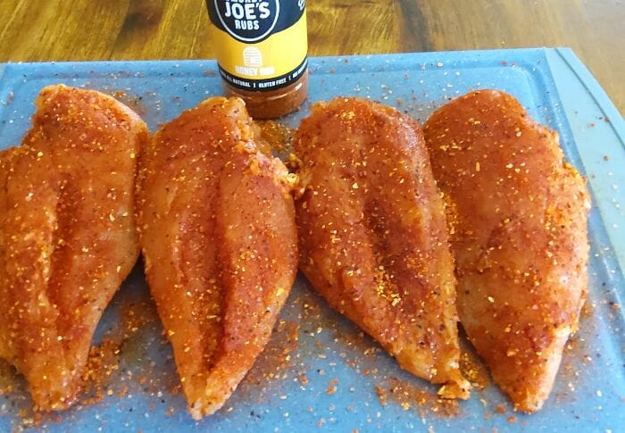 Brined Smoked Chicken Breast pellet smoker 2 - Z Grills Australia