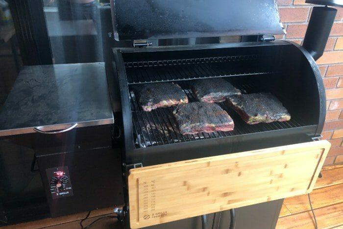 Low and Slow Beef Short Ribs pellet smoker 2 - Z Grills Australia