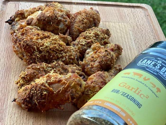 Parmesan Crusted Wings pellet smoker - Z Grills Australia