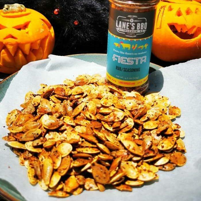 Roasted Pumpkin Seeds pellet smoker - Z Grills Australia